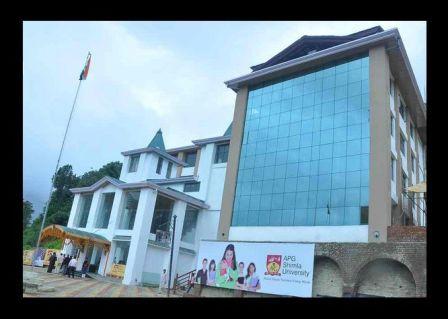 APG, Shimla University