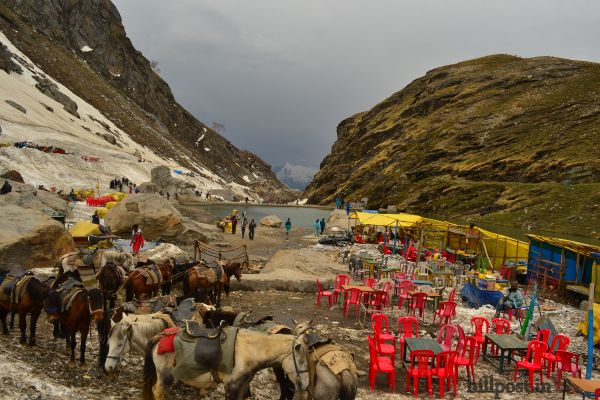 Beas Kund near Rohtang Pass