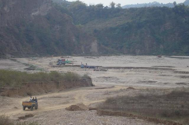 No sand mining from riverbed without green nod