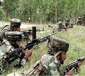 Army, police hunt for terrorists in Kashmir