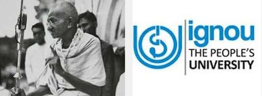 IGNOU offers course on Gandhi