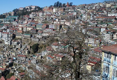 Shimla over crowded