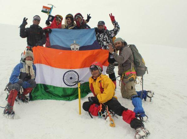 BCS Students scale Mt tibba