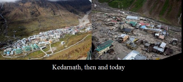 Kedarnath, then and today