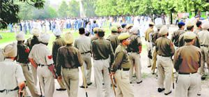 Youth Congress workers cane-charged in Chandigarh