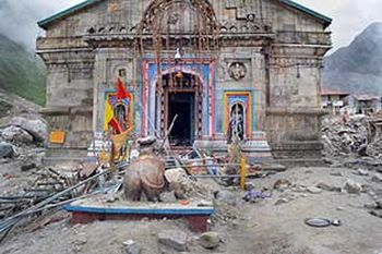 'Outside help not required to restore Kedarnath temple'