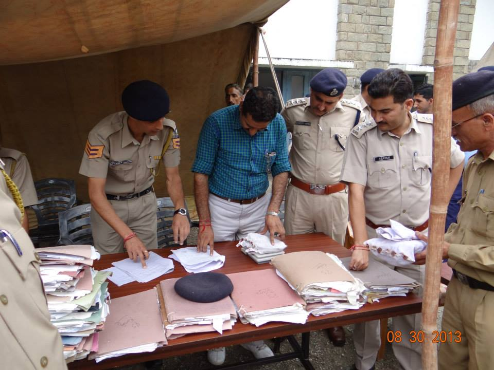Destruction of Charas in Mandi - Himachal Pradesh