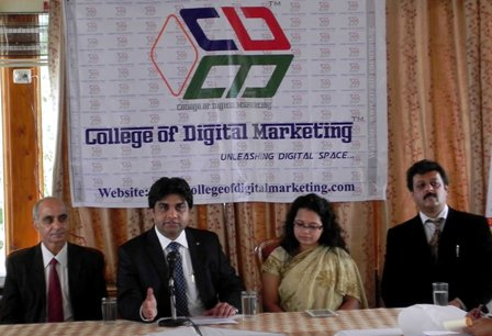 Chander Kapoor announcing launch of CDM