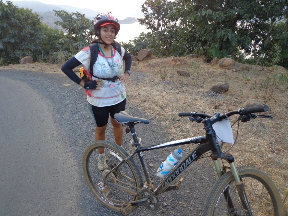 She pedals in the Himalayas for cancer awareness