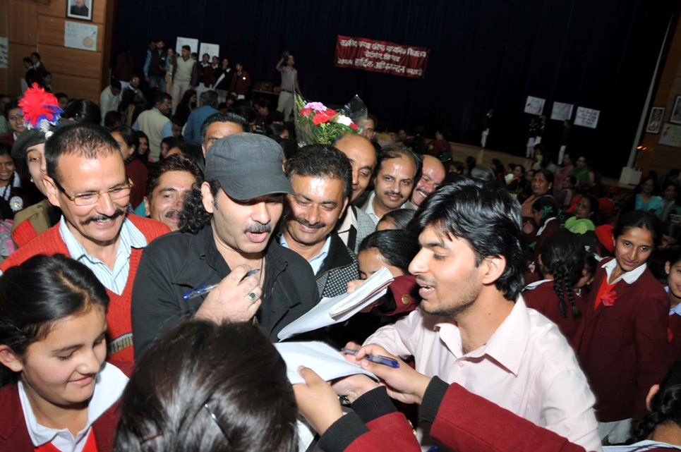 Mohit Chauhan in Shimla | Photo by Amit