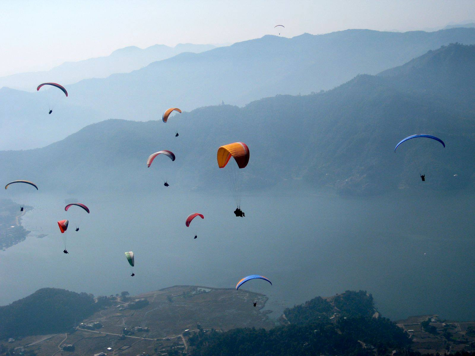 International paragliding competition at Bir from 24-30 October