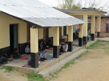 A school in Himachal