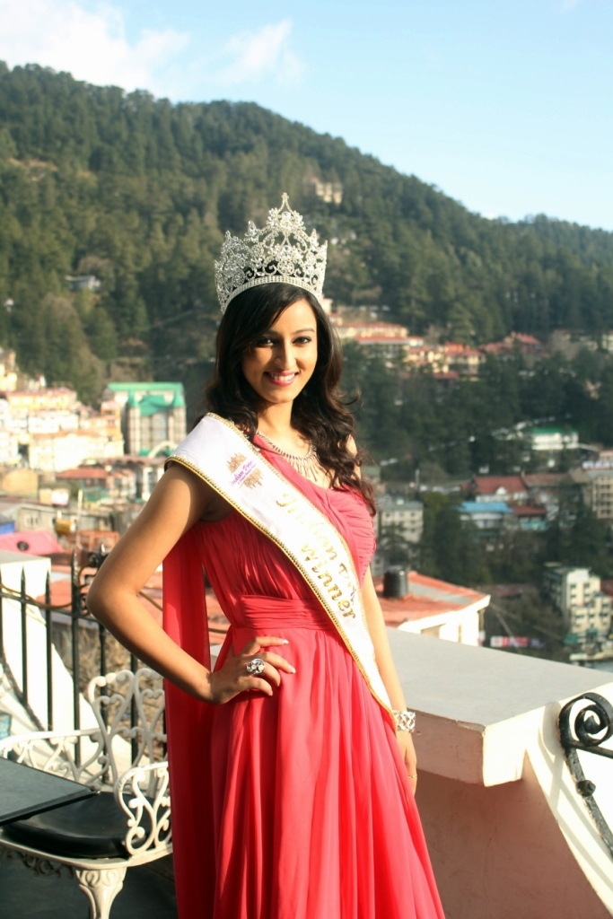 Himachal Girl Wins Indian Princess Pageant 2014 Hill Post