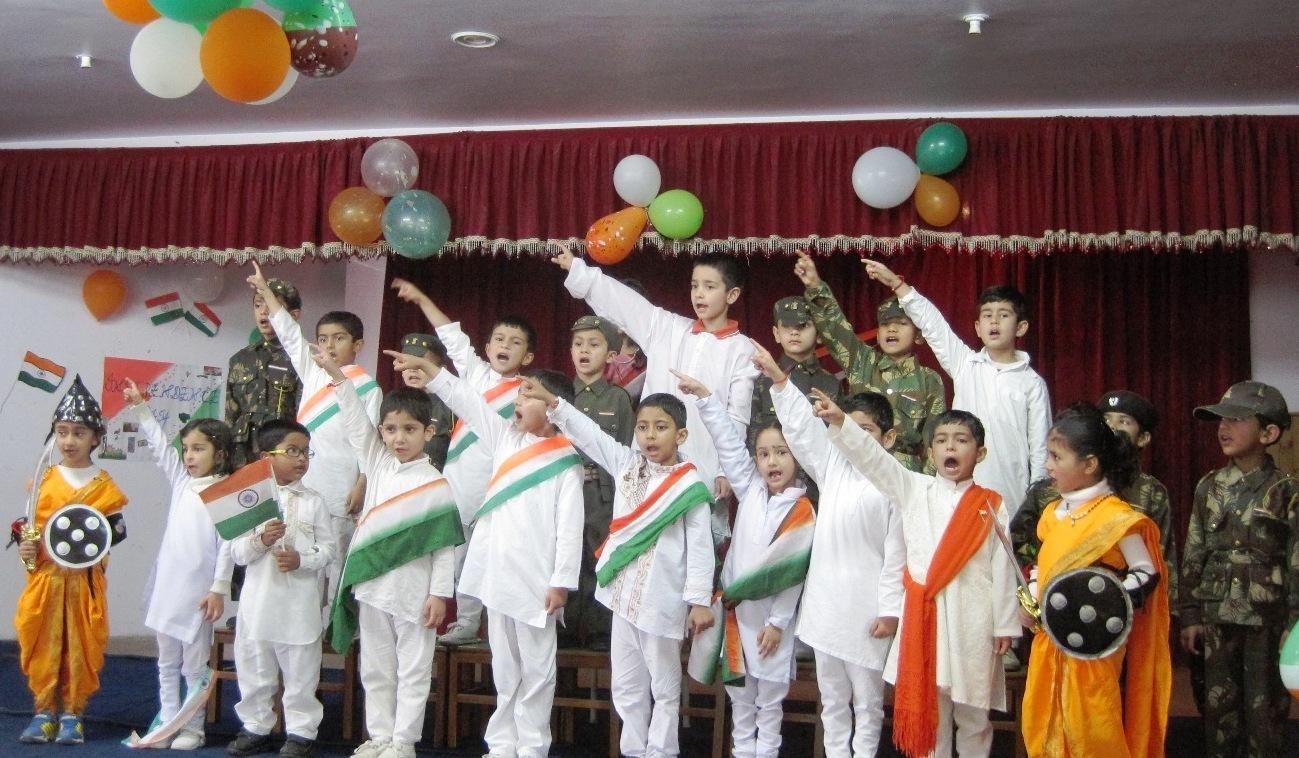 Independence Day at Princeton School,Shimla