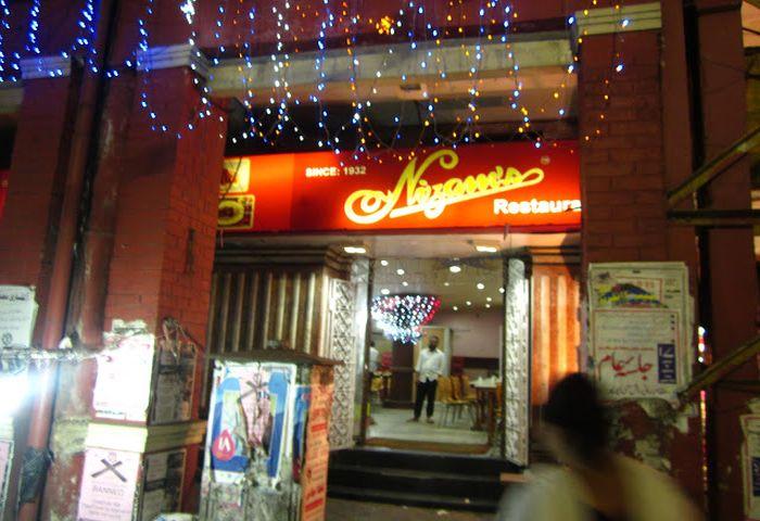 Nizam restaurant in Kolkata
