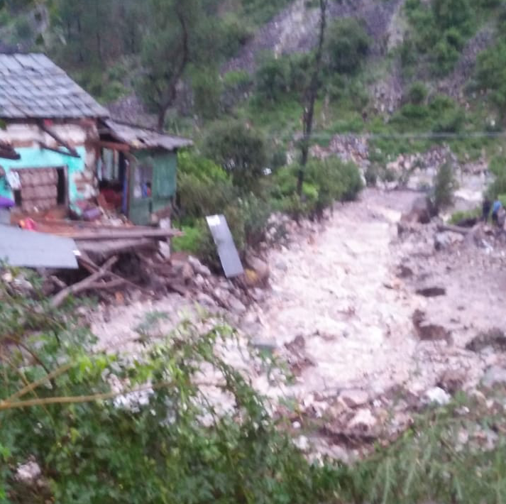 Cloud Bursts Cause Heavy Damage In Kullu Valley, Schools Ordered Closed
