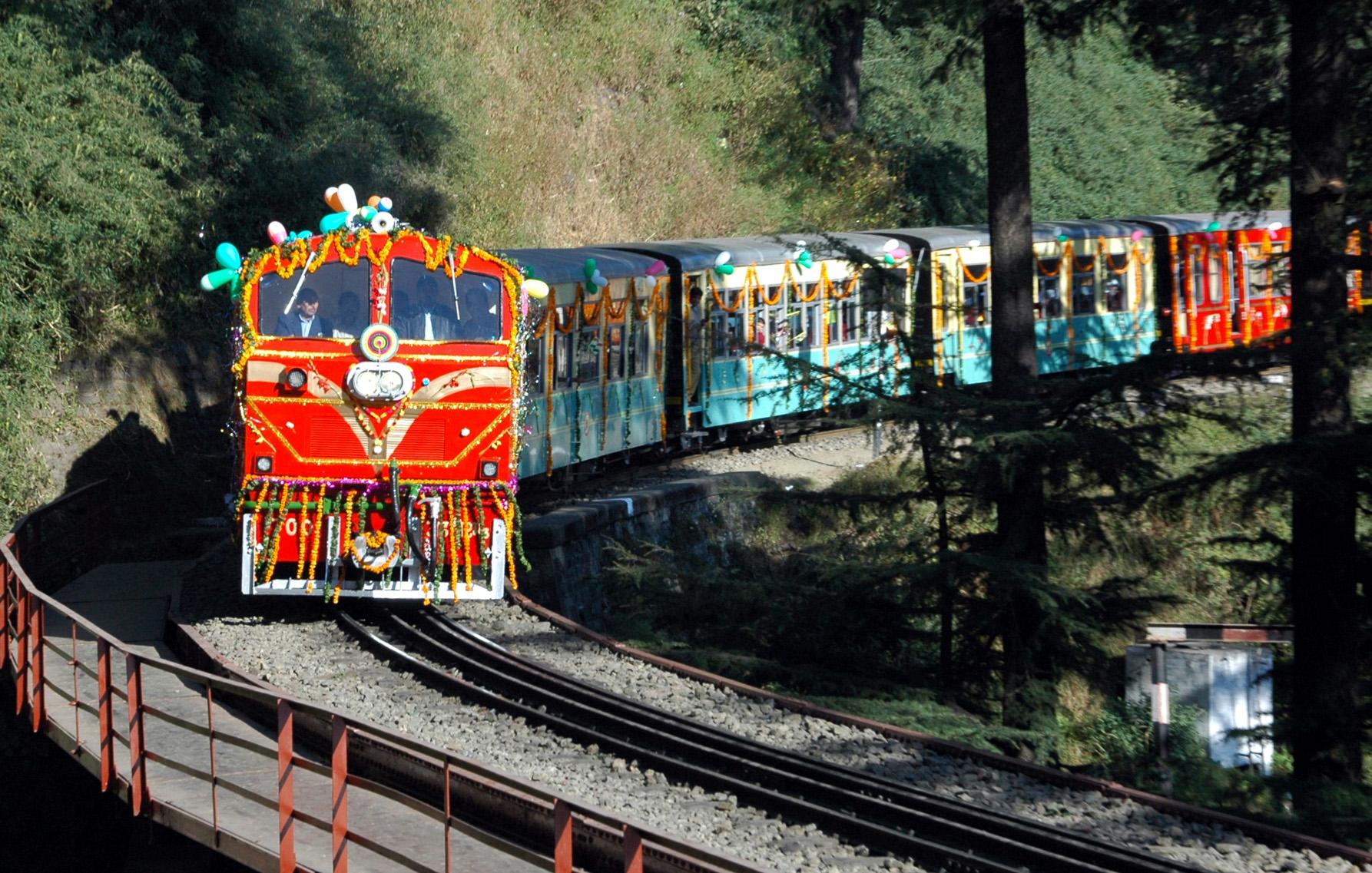 Kalka-Shimla rail, Himachal Pradesh Tourism, Toy Train to Shimla