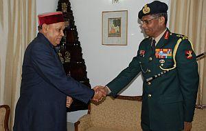 dhumal meets J.K. Mohanty