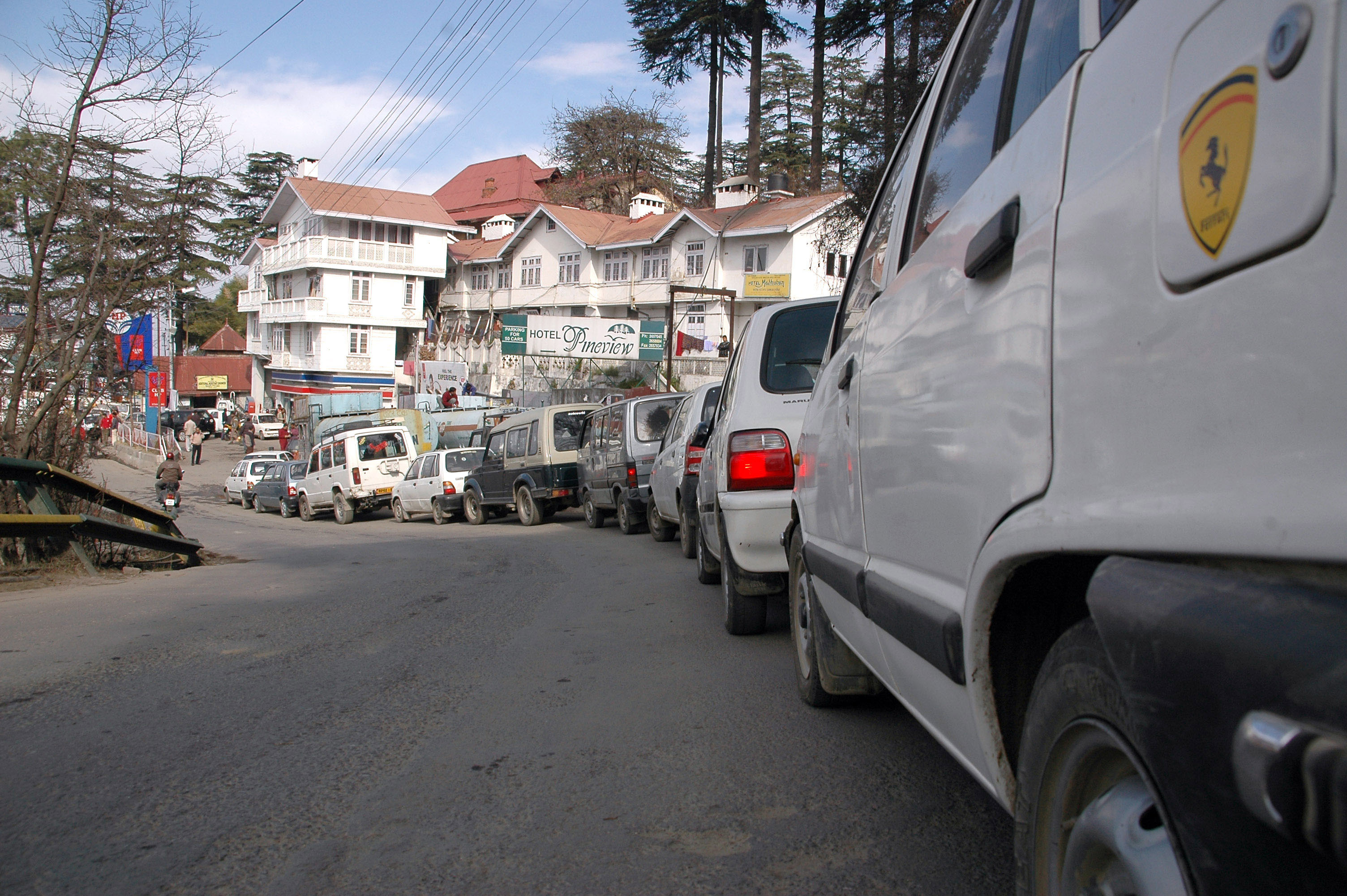 People panic, inferred shortage of Fuel