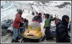 Tourists at Manali - Himachal Pradesh