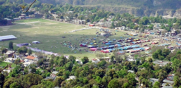 huge-chaugan-ground-of-sujanpur-tira - District Hamirpur - Himachal Pradesh