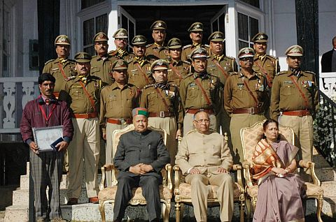 Himachal 16 Police Officials Honoured