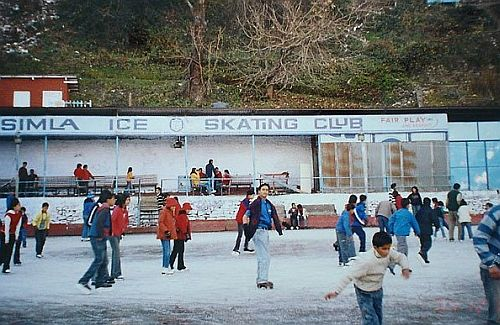 ice skating rink shimla