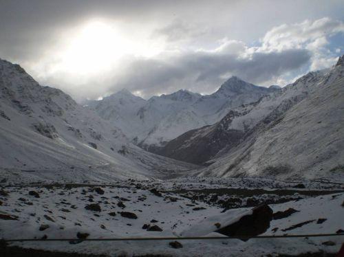 The vast landscpaes of Lahaul and Spiti