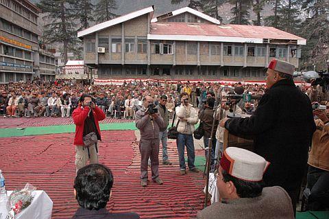 Himachal CM at Kullu