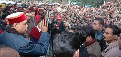 Himachal CM addressing PTA members