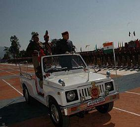 SSB contingents parade inspected by Himachal CM