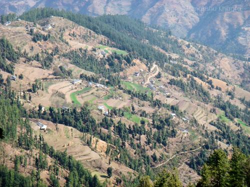 View from Kufri