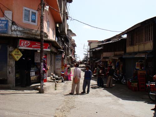 Chail Market