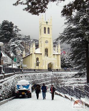 shimla in snow