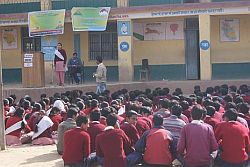 My Himachal & CENSUD organised Declamation competition in Mandi