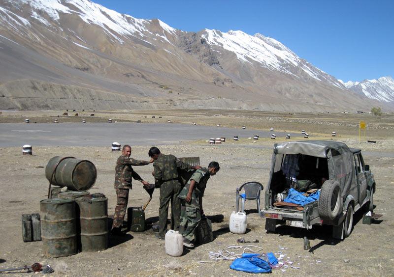 army refuel