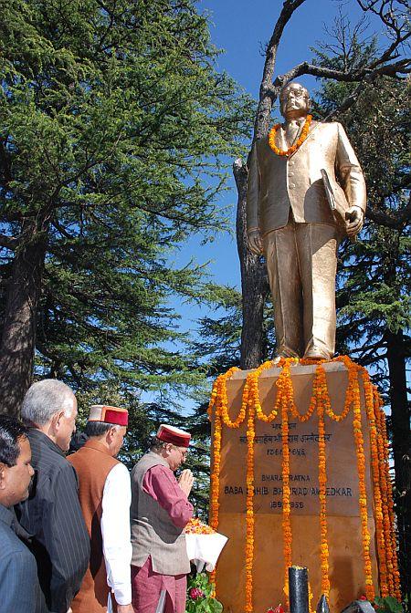 Dr. B.R. Ambedkar Jayanti celebrated in Shimla