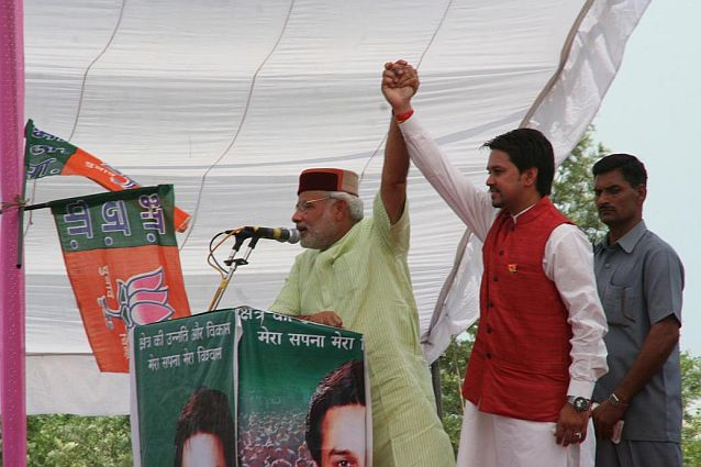 narender-modi-and-anurag-thakur-at-hamirpur