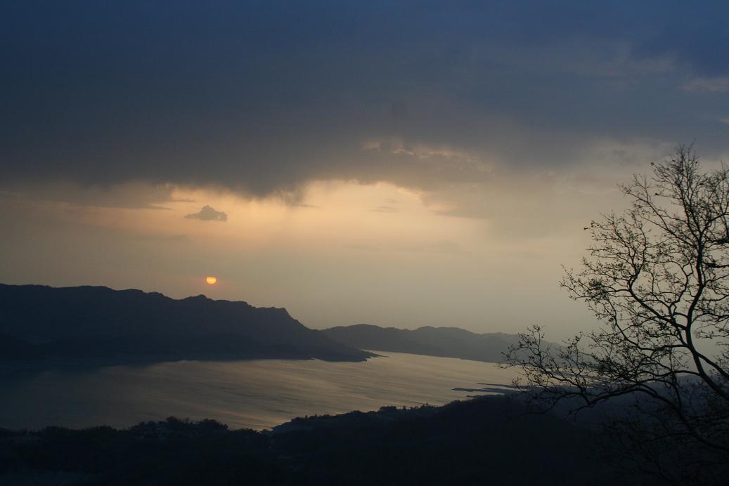 sunset_gobindsagar_bilaspur