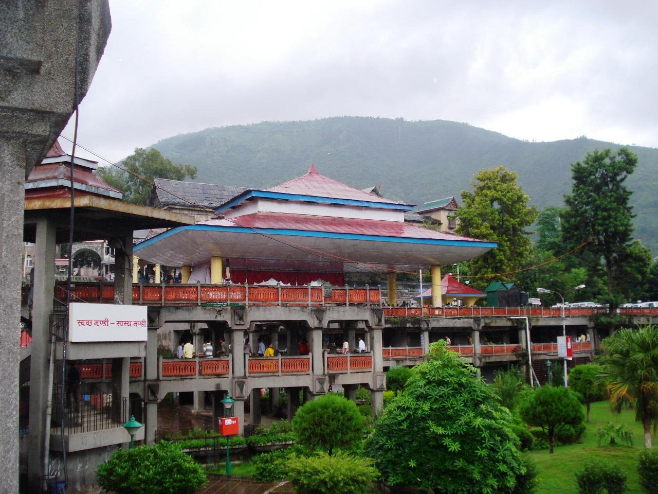 Backside View Of Seri Manch, Mandi