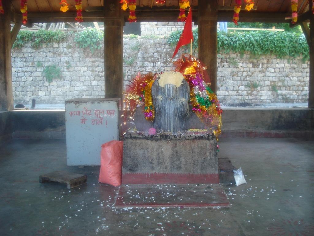 The Idol of Kamru Nag Ji