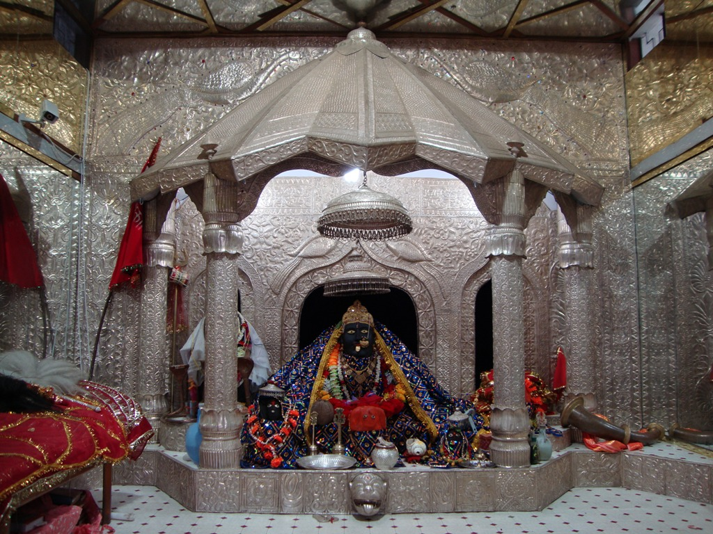 Magnifisent View Inside Bhimakaali Temple
