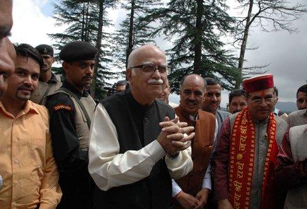 LK Advani at Shimla