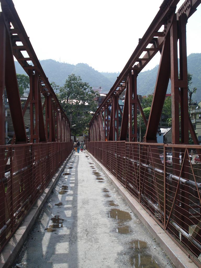 Bridge Adjoining Panchavaktra Mahadev Temple, Mandi