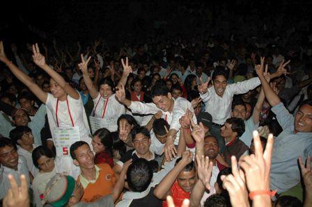 SFI Celebrate HPU 2009 Election Win