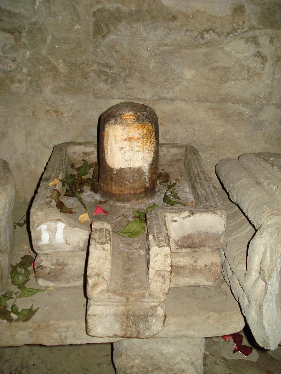 Shiv Linga Inside Panchavaktra Mahadev Temple