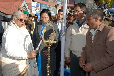 Gov Prabha Rau inaugrates Recong Peo Lavi Fair