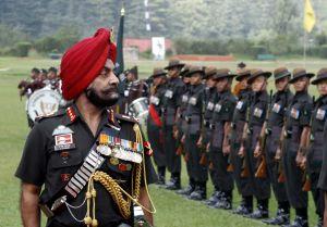 Lt Gen AS Lamba taking guard of honour2