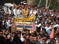 CM Dhumal with Balnahta - file photo