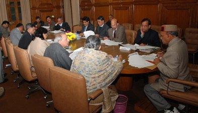 CM Presiding over industrial investment meet